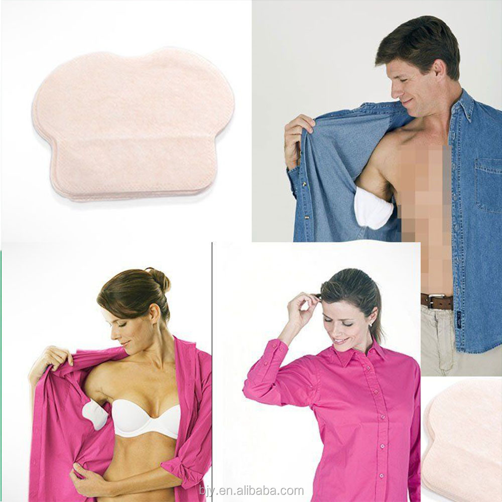 Alibaba wholesaler comfortable disposable underarm sweat pads for personal care