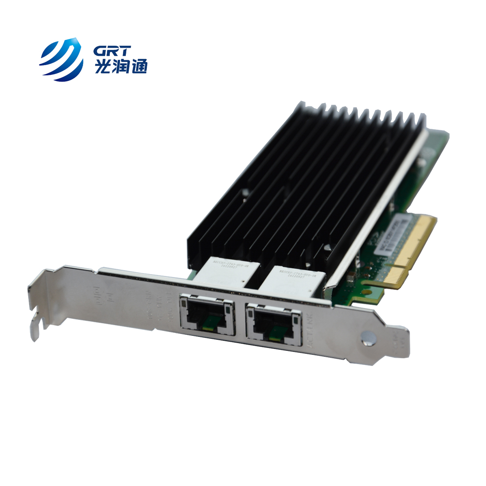 10Gbps Fiber NIC Network Card 2-Port SFP+ Intel82599ES Server Adapter