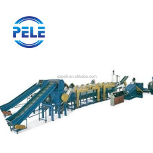 LDPE HDPE plastic recycling equipment
