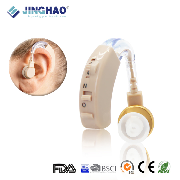 Cheap Deaf Device BTE Sound Amplifier Hearing Aid
