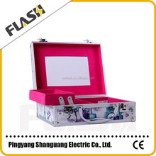 Popular High Quality Hot Sale Aluminum Box Promotion Gift Cosmetic Box and Vanity Case