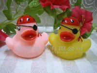 Novelty Rubber Duck with Pirates