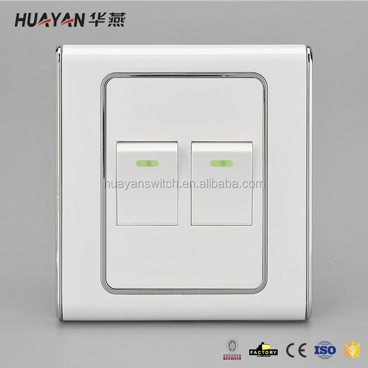 Top selling excellent quality 5 gang 1 way touch switch for wholesale