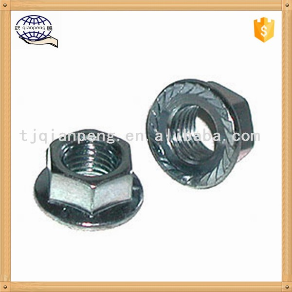 Hot selling High quality low pirce collared hex flange nut