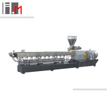 Twin screw extruder recycle plastic granules making machine