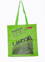 Lead free recycled laminated non woven grocery tote bag