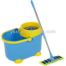 Plastic mop bucket with wheels With Spin Dehydration Funtion