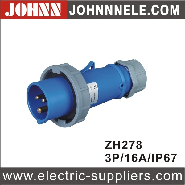 Good Quality and Various Type Liushi Fireproof Electric Plug
