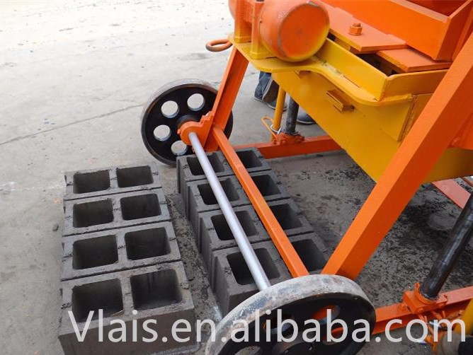 concrete block making automatic egg laying block making machine