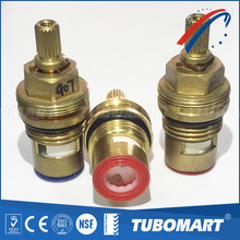 brass ceramic faucet cartridge 15mm ceraic disc brass cartridge for brass valve