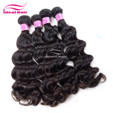 "alibaba China wet and wavy 12""-36"" full cuticle malaysian hair"