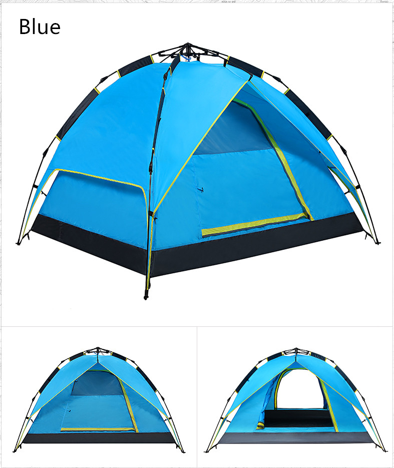 Tipi Tent 6 angle Strengthen Double Hunting Hiking Camping Tents