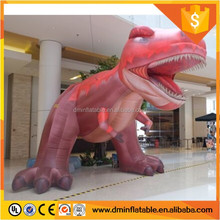 Commercial used advertising inflatable red dragon cartoon figure for promotion