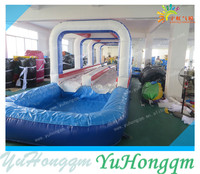 2015 Summer Durable Commercial Long Inflatable Water Slip and Slide for Sale
