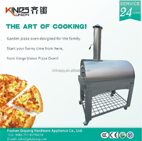 Kings Union Hot sale outdoor garden stainless steel baking pizza oven