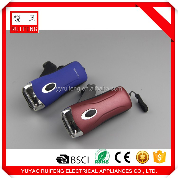 Import China products solar radio crank dynamo flashlight