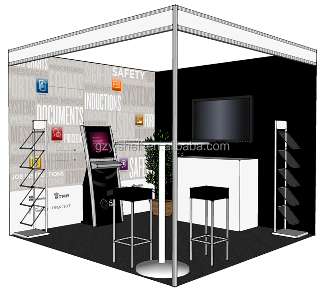Exhibition Stall Suppliers : Aluminum exhibition stall design china product