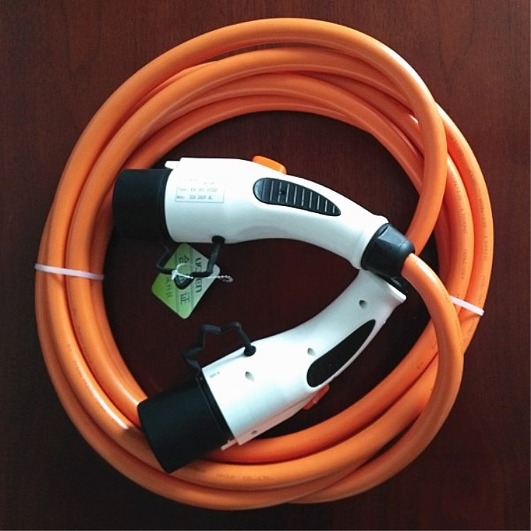 EV plug-in electric vehicle charging cable for new energy automobile