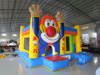 Inflatable cartoon combo jumping inflatable jumping combo for kids