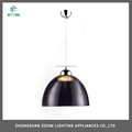 Promtional E27 lamp holder dining room suspended lamp black color