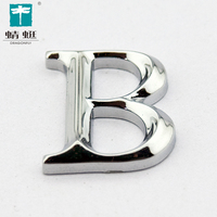Best selling capital alphabet B ABS plastic building sign letters