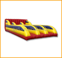 Three Lane Bungee Run For Sale,inflatable interactive tournament games