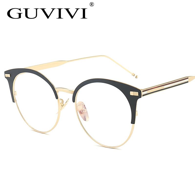 GUVIVI Price sunglasses round optical frame Logo sunglasses flat mirrored semi-rimless Sunglasses man