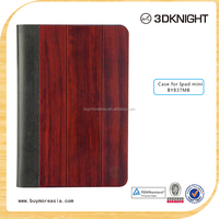 Custom Design Flip Wooden For Ipad mini Case