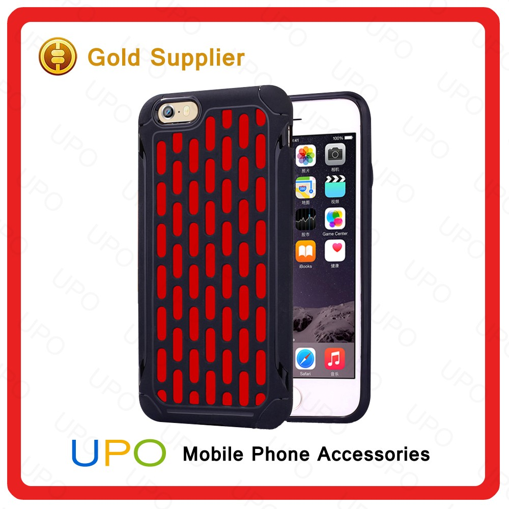 [UPO] Napoleon Funky Smart Phone PC TPU Armor Hybrid Back Cover Case for iPhone 6