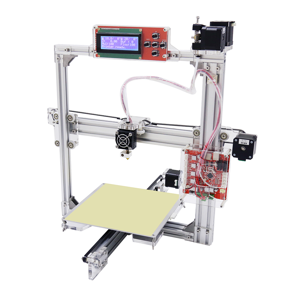 Big Size 220*220*220MM High Precision Reprap Prusa i3 DIY 3D Printer Kit with 1 roll Filament + 16G SD card for Free <strong>DHL</strong>