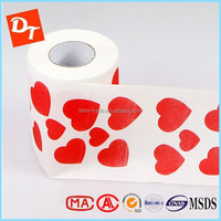 Wholesale high quality custom Supple feel printed colored toilet paper