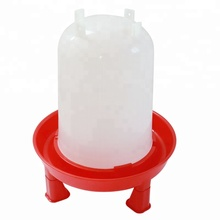 Different capacity manual plastic broiler chick water drinker and feeder chicken poultry feeders drinkers for animal