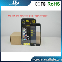 Factory price !! 0.2mm 9H Hardness 3D Anti-Fingerprint Premium Real USA tempered glass screen protector for Iphone 6