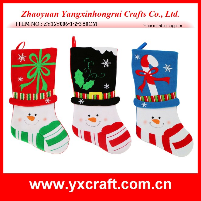 Christmas decoration (ZY16Y006-1-2-3 50CM) christmas decorations made of fabric, christmas love snowman gift