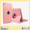 360 degree rotation leather Holder case with Card slot for Apple Ipad Accessories