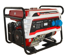 JIANSHE(CHONGQING) single cylinder air cooled 4 stroke 5kw portable gasoline generator