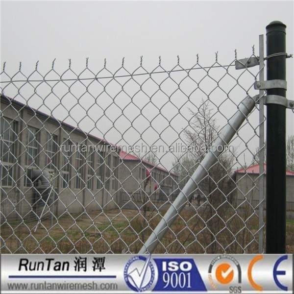 high quality hot dipped galvanized and pvc coated chain link panels