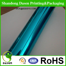 Manufacturer Pet transferring Holographic metallized paper/paperboard