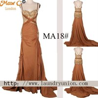 2012 New arrival backless design sexy mother of the bride dresses MA18#