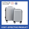 Hot sale silver hard shell ABS travel luggage