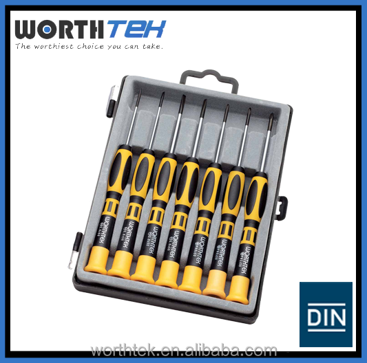 7 PCS PRECISION MINI SCREWDRIVER LAPTOP REPAIR TOOL KIT SET