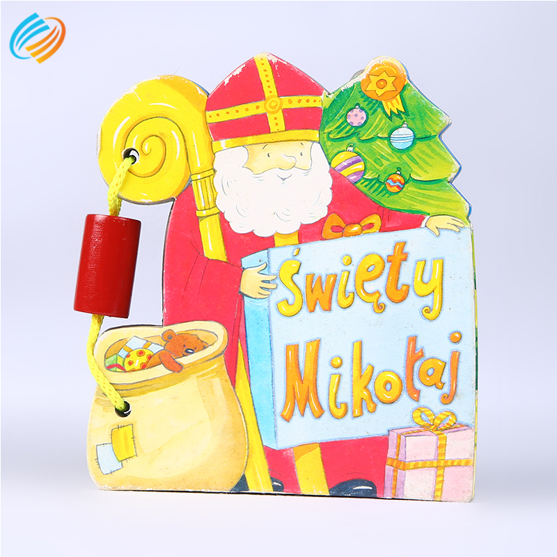 Professinal Cheap Hardcover Children Cardboard Book Printing and Die Cutting