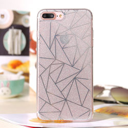 customized logo printing promotional Transparent TPU cell phone case for girl iphone 6 7 8 LG HUAWEI ZTC
