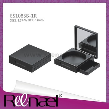 Reenael Square compact cases,makeup case with mirror