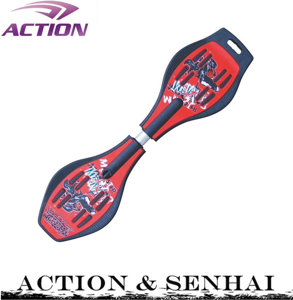ACTION cheap wave board original snake land street surfing board