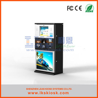 LKS advertising display kiosk touch screen computer