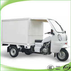 best selling three wheeler cargo van tricycle