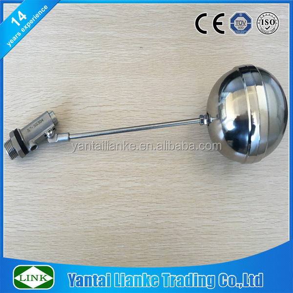 4 inch stainless steel 316 water trough automatic float valve