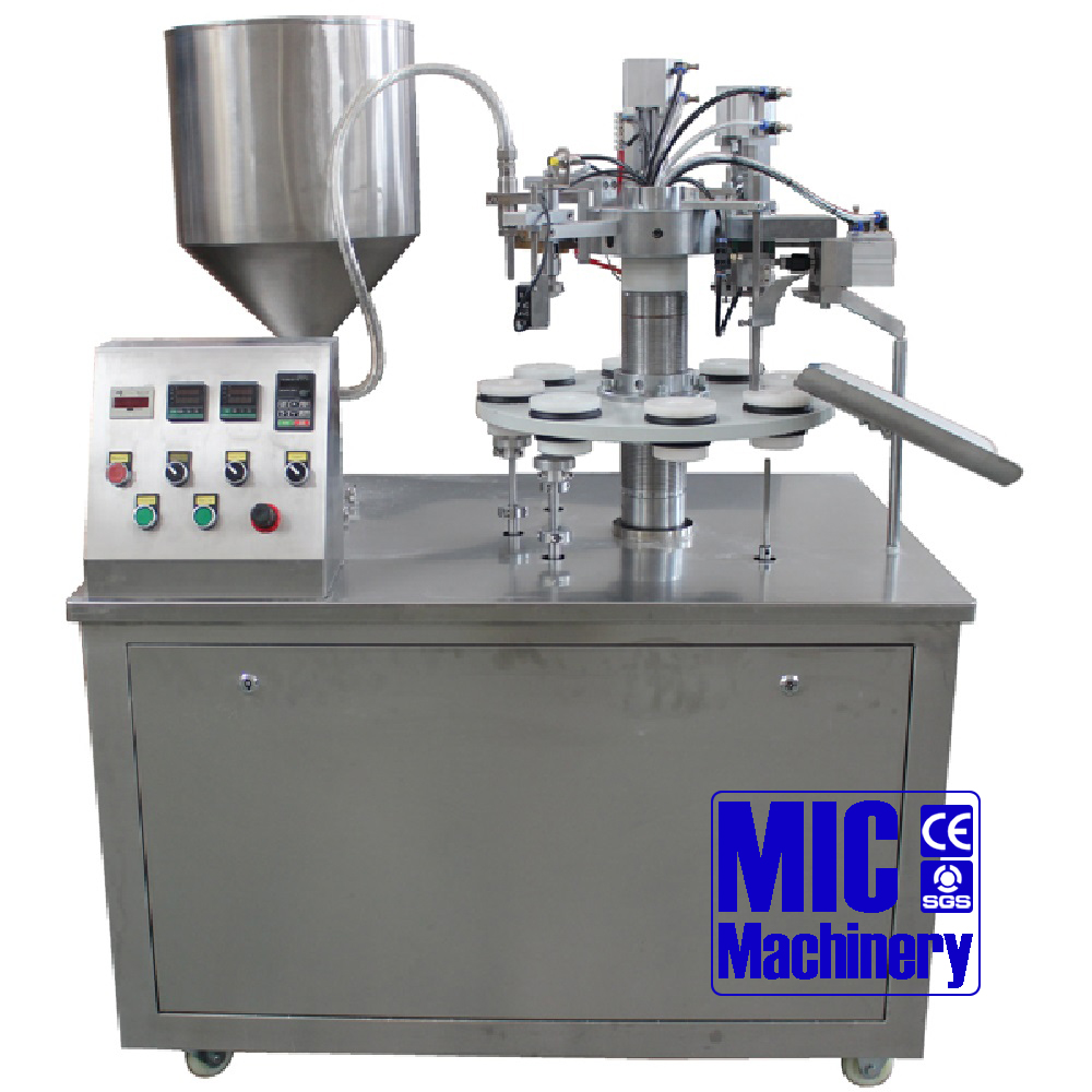 MIC-R30 Semi-auto Plastic Tube Laminated Tube Filling and Sealing <strong>Machine</strong>