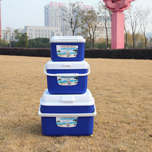 Outdoor different sizes plastic keep drinking cold cooler box for camping and party